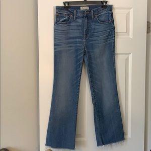 Madewell Flea Market Flare Jean 29